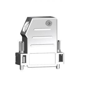 471155 Kompakte Haube metallisiert seitlicher Kabelausgang und grosser Einbauraum