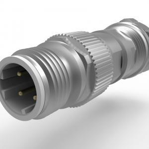 M12 V4A D-Code Kabelverschraubung