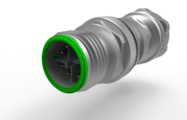 M12 V4A X 10Gbit Ethernet Kabelverschraubung