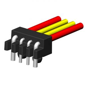 Wireclip mit verschiedenen Kabelquerschnitten