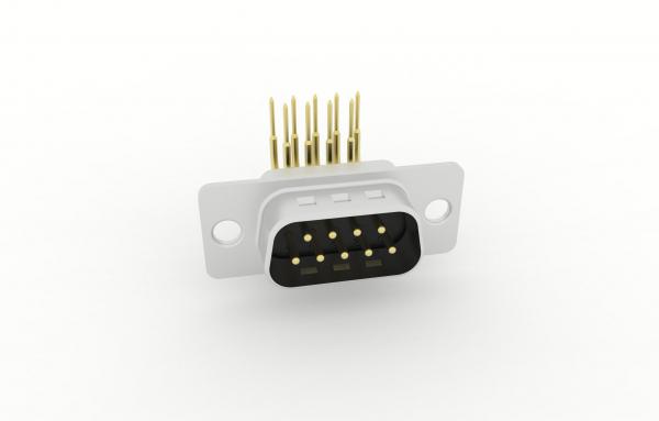 D-Sub Steckverbinder Standard Einlötanschluss abgewinkelt