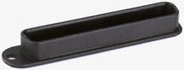 Schutzkappen Kunststoff schwarz