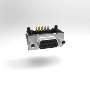 TMC D-Sub Pressfit 90° Standard Gewindebolzen