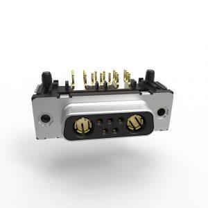 TMC High Power D-Sub Pressfit 90°