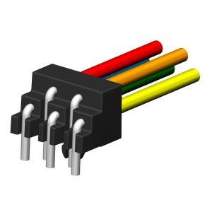 Standard Wireclip-Konfektion (2-reihig)