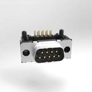 TMC D-Sub THR 90° Standard Durchgangsloch