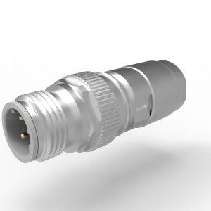 M12 Mini D Ethernet Crimp KV